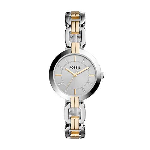 フォッシル 腕時計 レディース Fossil Women's Kerrigan Quartz Two-Tone Stainless Steel Dress Watch, Color: Silver, Gold (Model: BQ3207)フォッシル 腕時計 レディース