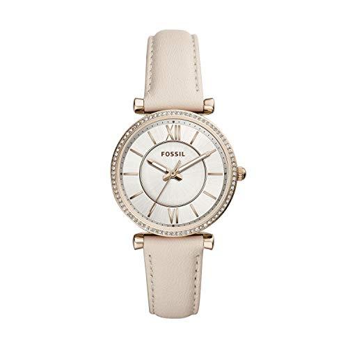 フォッシル 腕時計 レディース Fossil Women's Carlie - ES4465 White One Sizeフォッシル 腕時計 レディース