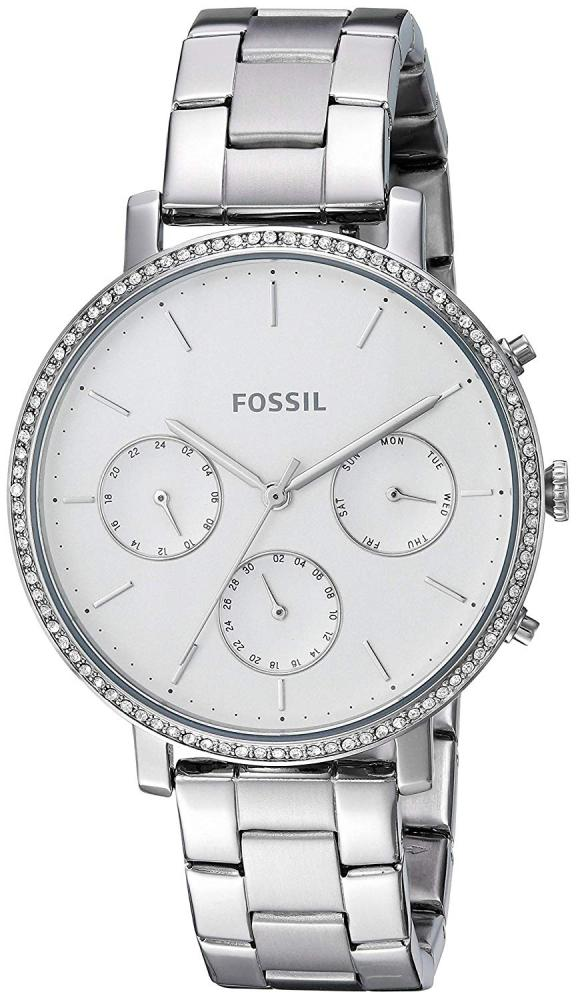 フォッシル 腕時計 レディース Fossil Women's Sylvia Quartz Stainless-Steel Strap, Silver, 16 Casual Watch (Model: ES4435)フォッシル 腕時計 レディース