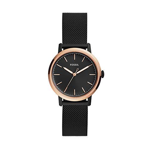 フォッシル 腕時計 レディース Fossil Neely Three-Hand Black Stainless Steel Watch (Black)フォッシル 腕時計 レディース