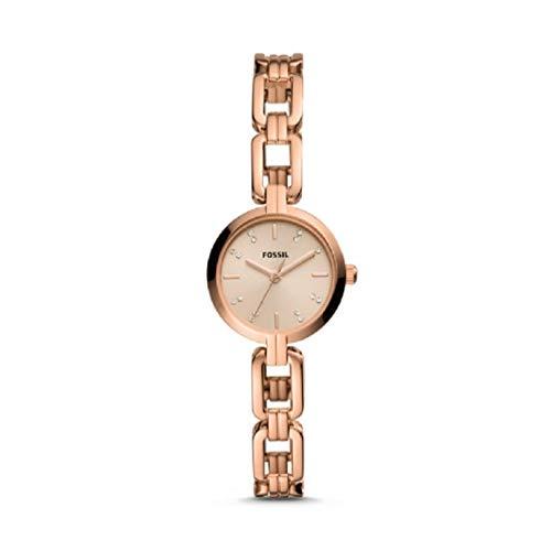 フォッシル 腕時計 レディース Fossil Kerrigan Mini Three-Hand Rose Gold-Tone Stainless Steel Watch BQ3443フォッシル 腕時計 レディース