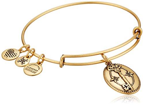 アレックスアンドアニ アメリカ アクセサリー ブランド かわいい 【送料無料】Alex and Ani Key To Life Expandable Rafaelian Gold Bangle Braceletアレックスアンドアニ アメリカ アクセサリー ブランド かわいい