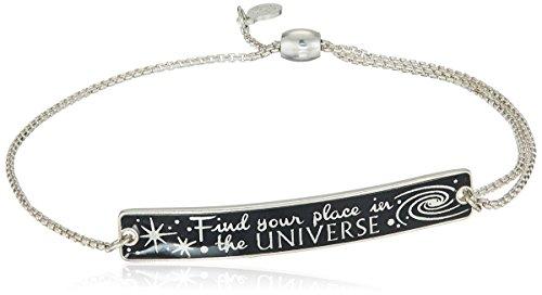 アレックスアンドアニ アメリカ アクセサリー ブランド かわいい 【送料無料】Alex and Ani 'A Wrinkle in Time' Sterling Silver Find Your Place in the Universe Pull Chain Braceletアレックスアンドアニ アメリカ アクセサリー ブランド かわいい