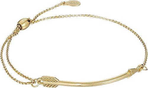 アレックスアンドアニ アメリカ アクセサリー ブランド かわいい Alex and Ani Women's Arrow Pull Chain Bracelet, 14kt Gold Platedアレックスアンドアニ アメリカ アクセサリー ブランド かわいい