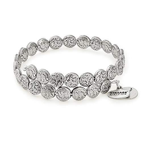 アレックスアンドアニ アメリカ アクセサリー ブランド かわいい Alex and Ani Women's Coin Wrap Bracelet, Rafaelian Silverアレックスアンドアニ アメリカ アクセサリー ブランド かわいい