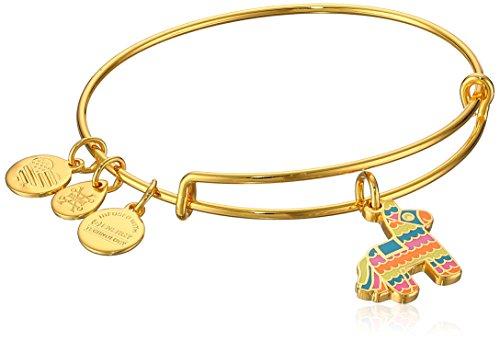 アレックスアンドアニ アメリカ アクセサリー ブランド かわいい 【送料無料】Alex and Ani Womens Pinata EWB Bangle Bracelet, Shiny Gold, Expandableアレックスアンドアニ アメリカ アクセサリー ブランド かわいい