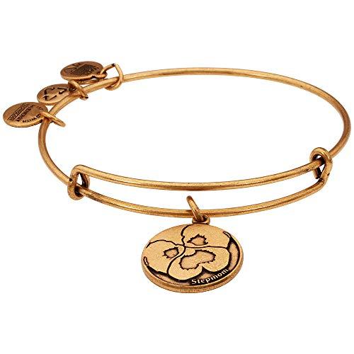 アレックスアンドアニ アメリカ アクセサリー ブランド かわいい Alex And Ani Stepmom Charm Rafaelian Gold Finish Bangle Bracelet A13EB05RGアレックスアンドアニ アメリカ アクセサリー ブランド かわいい
