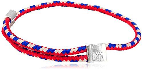 アレックスアンドアニ アメリカ アクセサリー ブランド かわいい 【送料無料】Alex and Ani Women's Hope Rope USA Bracelet Silver One Sizeアレックスアンドアニ アメリカ アクセサリー ブランド かわいい