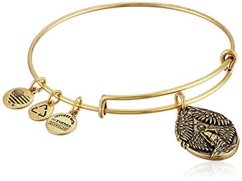 アレックスアンドアニ アメリカ アクセサリー ブランド かわいい Alex and Ani Guardian of Peace Rafaelian Gold Expandable Wire Bangle Braceletアレックスアンドアニ アメリカ アクセサリー ブランド かわいい
