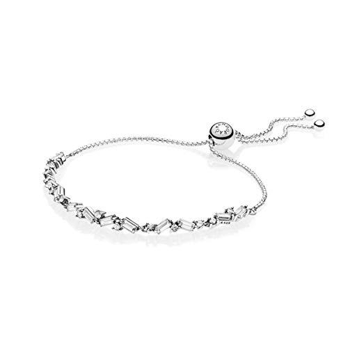 パンドラ ブレスレット アクセサリー ブランド かわいい Pandora Glacial Beauty Sliding Bracelet 23 cm 597558CZ1パンドラ ブレスレット アクセサリー ブランド かわいい
