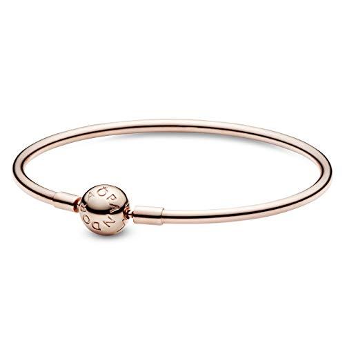 パンドラ ブレスレット アクセサリー ブランド かわいい 【送料無料】PANDORA Jewelry Bangle Charm Sterling Silver Bracelet, 6.7