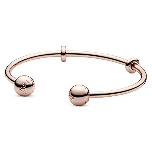 パンドラ ブレスレット アクセサリー ブランド かわいい Pandora Rose Open Bangle Bracelet 17.5cm 5864772パンドラ ブレスレット アクセサリー ブランド かわいい