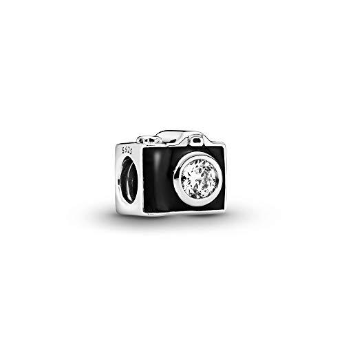 パンドラ ブレスレット アクセサリー ブランド かわいい 【送料無料】Pandora Jewelry Vintage Camera Cubic Zirconia Charm in Sterling Silverパンドラ ブレスレット アクセサリー ブランド かわいい