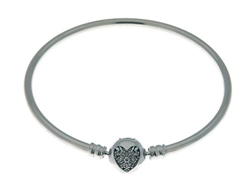 パンドラ ブレスレット アクセサリー ブランド かわいい Pandora Heart Of Winter Limited Edition Bangle Bracelet, Large, B800646-21パンドラ ブレスレット アクセサリー ブランド かわいい