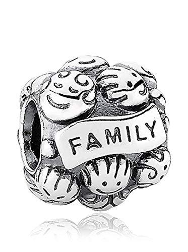 パンドラ ブレスレット アクセサリー ブランド かわいい Pandora Love & Family Silver Charm 791039パンドラ ブレスレット アクセサリー ブランド かわいい