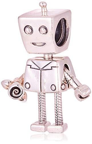 パンドラ ブレスレット アクセサリー ブランド かわいい Pandora Rob Bot Silver One Size Charm 797819パンドラ ブレスレット アクセサリー ブランド かわいい