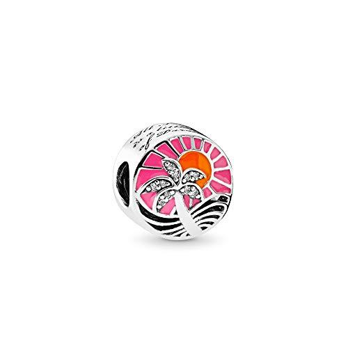 パンドラ ブレスレット アクセサリー ブランド かわいい Pandora Tropical Sunset Multicolored Charm 792116ENMXパンドラ ブレスレット アクセサリー ブランド かわいい