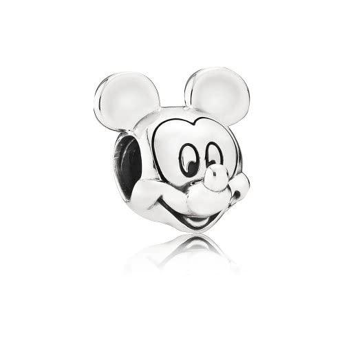 パンドラ ブレスレット アクセサリー ブランド かわいい Pandora Disney Mickey Portrait Silver One Size Charm 791586パンドラ ブレスレット アクセサリー ブランド かわいい