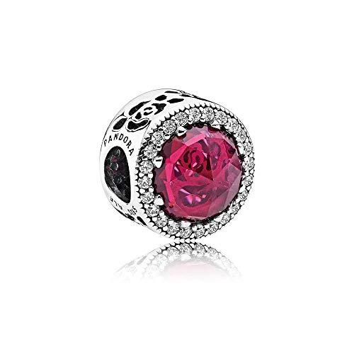 パンドラ ブレスレット アクセサリー ブランド かわいい Pandora Sterling Silver Disney Belle's Radiant Rose Charm 792140NCCパンドラ ブレスレット アクセサリー ブランド かわいい