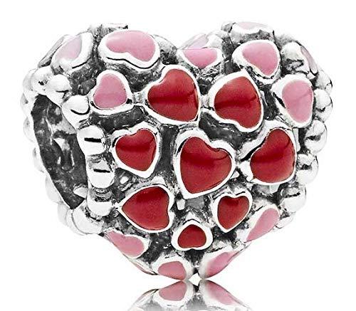 パンドラ ブレスレット アクセサリー ブランド かわいい Pandora Burst of Love Multicolored Charm 796557ENMXパンドラ ブレスレット アクセサリー ブランド かわいい