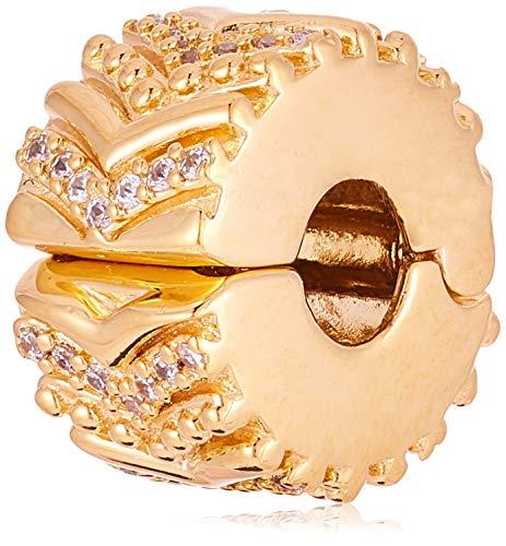 パンドラ ブレスレット アクセサリー ブランド かわいい 【送料無料】Pandora Stylish Wish Clip Gold One Size Charm 767798CZパンドラ ブレスレット アクセサリー ブランド かわいい