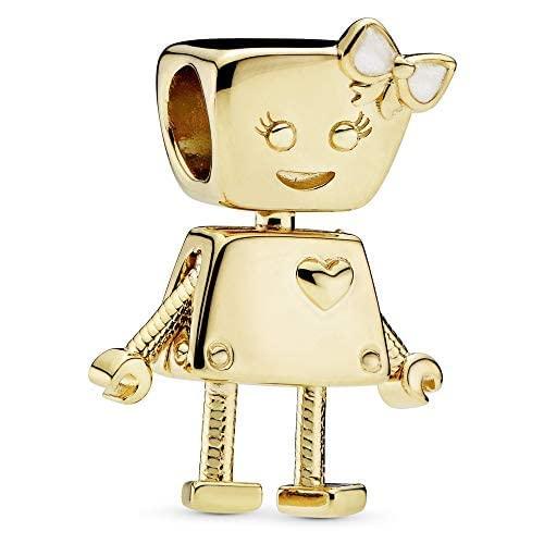 パンドラ ブレスレット アクセサリー ブランド かわいい Pandora Shine Bella Bot Charm 767141EN23パンドラ ブレスレット アクセサリー ブランド かわいい