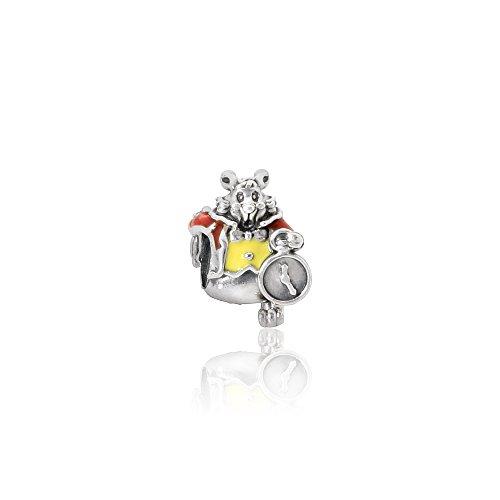 パンドラ ブレスレット アクセサリー ブランド かわいい PANDORA Sterling Silver White Rabbit Disney Charm 791898ENMXパンドラ ブレスレット アクセサリー ブランド かわいい