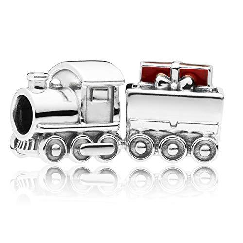 パンドラ ブレスレット アクセサリー ブランド かわいい 【送料無料】Pandora Jewelry Christmas Train Sterling Silver Charmパンドラ ブレスレット アクセサリー ブランド かわいい