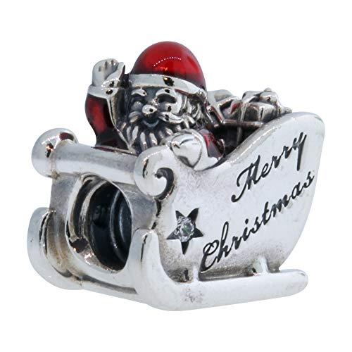 パンドラ ブレスレット アクセサリー ブランド かわいい Pandora Translucent Sleighing Santa Silver かわいい Translucent Red Enamel & Silver Charm 792004CZパンドラ ブレスレット アクセサリー ブランド かわいい, ニシカスガイグン:5655f9c8 --- ww.thecollagist.com