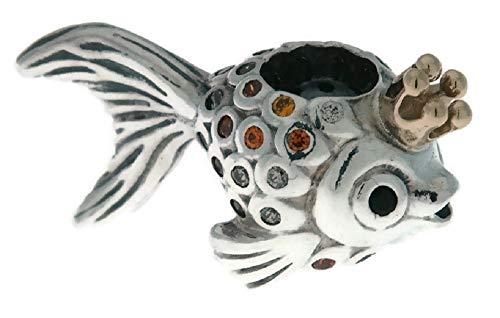 パンドラ ブレスレット アクセサリー ブランド かわいい PANDORA Fairytale Fish Sterling Silver Charm - 792014CCZパンドラ ブレスレット アクセサリー ブランド かわいい
