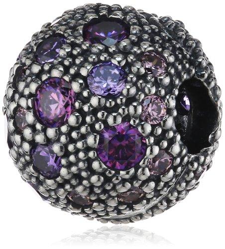 パンドラ ブレスレット アクセサリー ブランド かわいい Pandora Sterling Silver Cosmic Stars Clip Charm 791286CFPMXパンドラ ブレスレット アクセサリー ブランド かわいい
