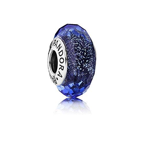 パンドラ ブレスレット アクセサリー ブランド かわいい PANDORA Charm 791646 Bead Silver Woman Iridescent Murano Glass Facetedパンドラ ブレスレット アクセサリー ブランド かわいい