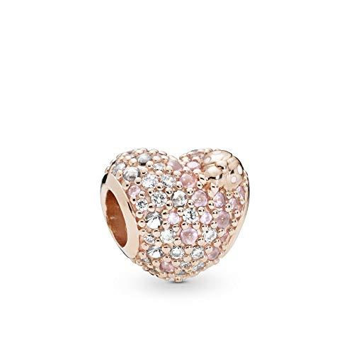 パンドラ ブレスレット アクセサリー ブランド かわいい PANDORA Gleaming Ladybug Heart PANDORA Rose Charm - 787894NPOMXパンドラ ブレスレット アクセサリー ブランド かわいい