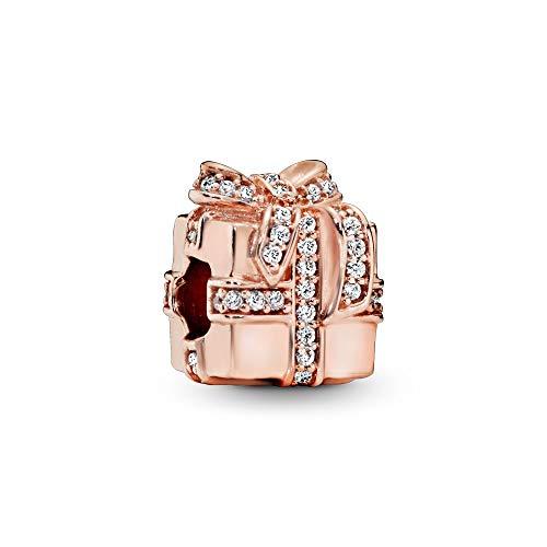 パンドラ ブレスレット アクセサリー ブランド かわいい PANDORA Sparkling Surprise Charm, PANDORA Rose, Clear Cubic Zirconia, One Sizeパンドラ ブレスレット アクセサリー ブランド かわいい
