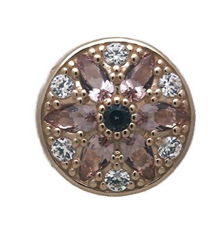 パンドラ ブレスレット アクセサリー ブランド かわいい PANDORA Opulent Floral Charm, 14K Gold, Multi-Colored Crystals & Clear CZ 751003NBPパンドラ ブレスレット アクセサリー ブランド かわいい