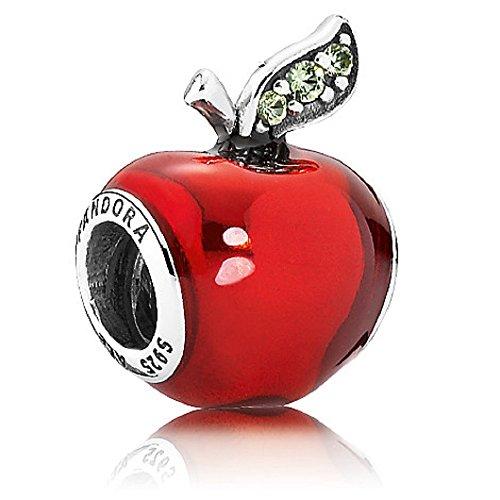 パンドラ ブレスレット アクセサリー ブランド かわいい PANDORA DISNEY SNOW WHITE'S APPLE TRANSPARENT RED ENAMEL GREEN CZ CHARMパンドラ ブレスレット アクセサリー ブランド かわいい