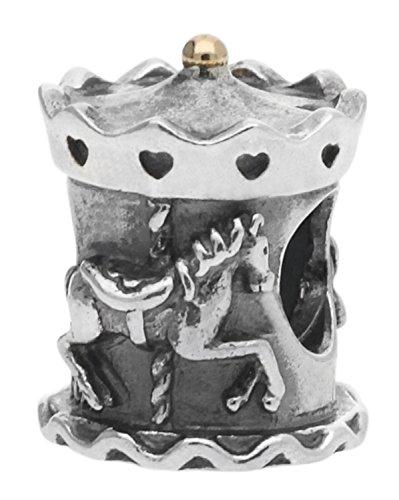 パンドラ ブレスレット アクセサリー ブランド かわいい PANDORA Carousel Sterling Silver Charm 791236パンドラ ブレスレット アクセサリー ブランド かわいい