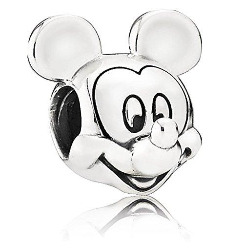 パンドラ ブレスレット アクセサリー ブランド かわいい New Disney Pandora Park Exclusive Mickey Mouse Portrait Bead Charmパンドラ ブレスレット アクセサリー ブランド かわいい