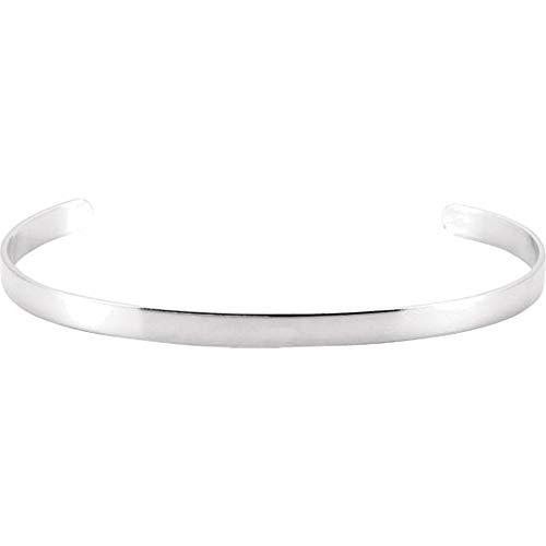 Bonyak Jewelry ブレスレット ジュエリー アメリカ アクセサリー Bonyak Jewelry Sterling Silver Cuff Bracelet - 4.75 mmBonyak Jewelry ブレスレット ジュエリー アメリカ アクセサリー
