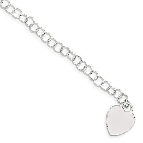 Bonyak Jewelry ブレスレット ジュエリー アメリカ アクセサリー Sterling Silver Heart Childs BraceletBonyak Jewelry ブレスレット ジュエリー アメリカ アクセサリー
