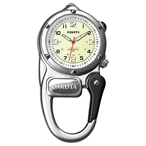 腕時計 ダコタ カラビナウォッチ クリップ時計 【送料無料】Dakota Mini Clip Watch Silver腕時計 ダコタ カラビナウォッチ クリップ時計