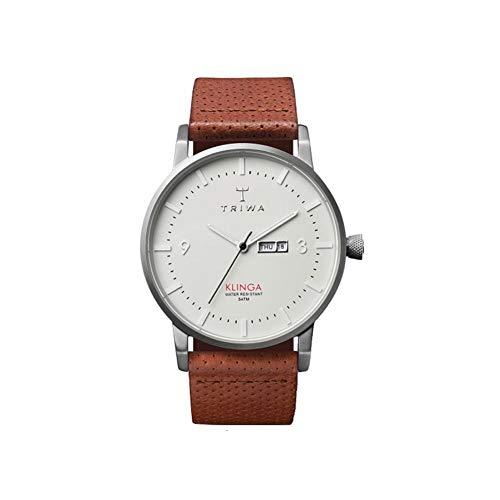 トリワ 腕時計 メンズ 北欧 ヨーロッパ Triwa Dawn Klinga Classic Watch Brown Dotted Leather Strap KLST101-CD010212トリワ 腕時計 メンズ 北欧 ヨーロッパ