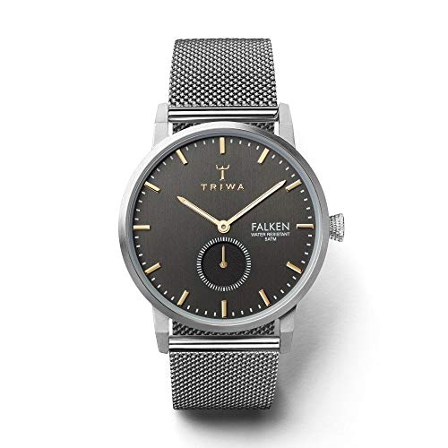 トリワ 腕時計 メンズ 北欧 ヨーロッパ Triwa Smoky Falken Watch   Steel Meshトリワ 腕時計 メンズ 北欧 ヨーロッパ