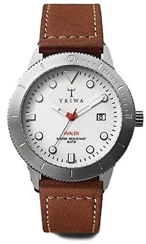トリワ 腕時計 メンズ 北欧 ヨーロッパ 【送料無料】Triwa Ivory Hvalen with Brown Sewn Classic Strap Unisex Men's Watch HVST103 SC010215トリワ 腕時計 メンズ 北欧 ヨーロッパ