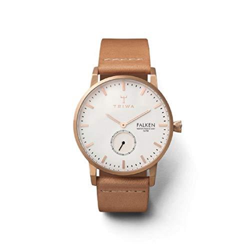 トリワ 腕時計 メンズ 北欧 ヨーロッパ Rose Falken Tan Leather Strapトリワ 腕時計 メンズ 北欧 ヨーロッパ