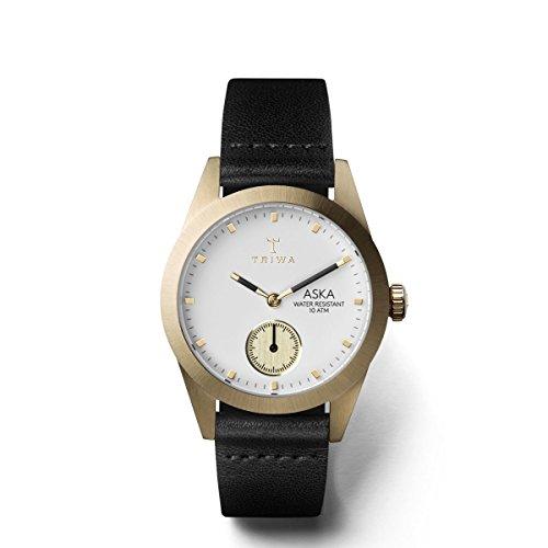 トリワ 腕時計 メンズ 北欧 ヨーロッパ 【送料無料】Triwa Ivory Aska Watch | Black Classic Super Slimトリワ 腕時計 メンズ 北欧 ヨーロッパ