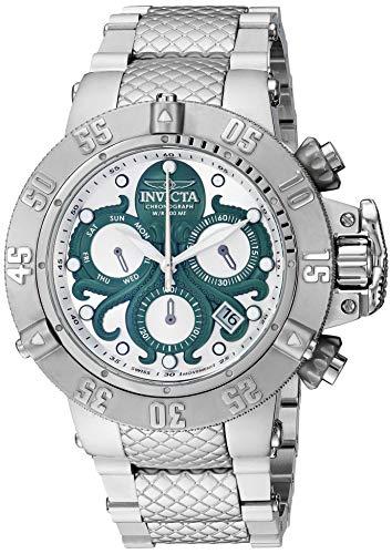 インヴィクタ インビクタ サブアクア 腕時計 メンズ 【送料無料】Invicta Men's Subaqua Swiss Quartz Watch with Stainless Steel Strap, Silver, 28 (Model: 27873)インヴィクタ インビクタ サブアクア 腕時計 メンズ