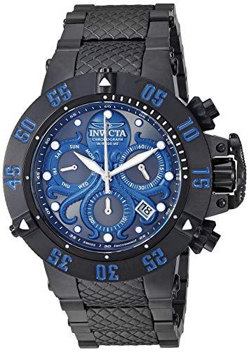 インヴィクタ インビクタ サブアクア 腕時計 メンズ Invicta Men's Subaqua Analog Quartz Watch with Stainless Steel Strap, Black, 28 (Model: 27868)インヴィクタ インビクタ サブアクア 腕時計 メンズ