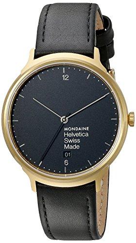 モンディーン 北欧 スイス 腕時計 メンズ 【送料無料】Mondaine Unisex MH1.L2221.LB Helvetica Analog Swiss Quartz Black Watchモンディーン 北欧 スイス 腕時計 メンズ
