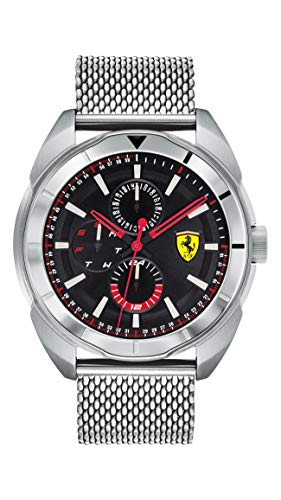 フェラーリ 腕時計 メンズ 【送料無料】Ferrari Men's Forza Quartz Stainless Steel and Bracelet Casual Watch, Color: Silver (Model: 830637)フェラーリ 腕時計 メンズ